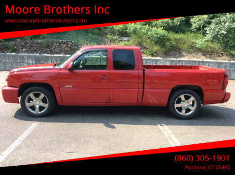 2004 Chevrolet Silverado 1500 SS for sale at Moore Brothers Inc in Portland CT