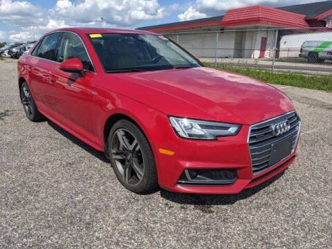 2017 Audi A4 for sale at EMG AUTO SALES in Avenel NJ