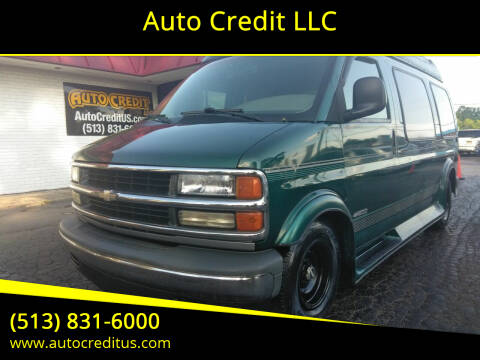 1999 Chevrolet Express Cargo for sale at Auto Credit LLC in Milford OH