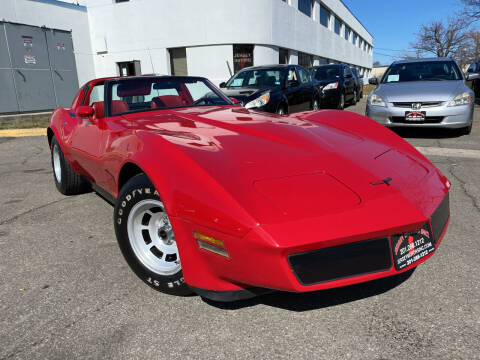 1981 Chevrolet Corvette for sale at JerseyMotorsInc.com in Teterboro NJ