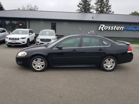 2010 Chevrolet Impala for sale at ROSSTEN AUTO SALES in Grand Forks ND