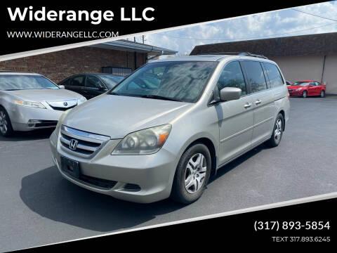 2006 Honda Odyssey for sale at Widerange LLC in Greenwood IN