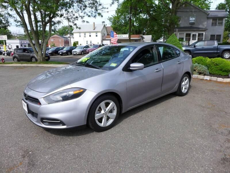 2016 Dodge Dart for sale at FBN Auto Sales & Service in Highland Park NJ
