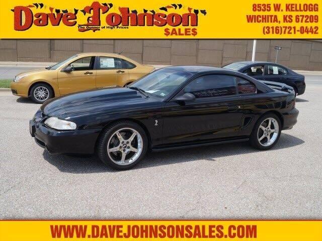 1994 Ford Mustang SVT Cobra for sale at Dave Johnson Sales in Wichita KS