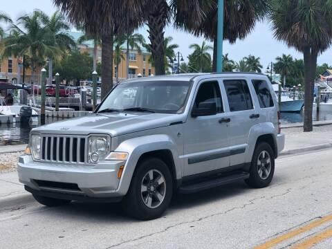 2008 Jeep Liberty for sale at L G AUTO SALES in Boynton Beach FL
