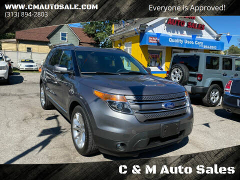 2014 Ford Explorer for sale at C & M Auto Sales in Detroit MI