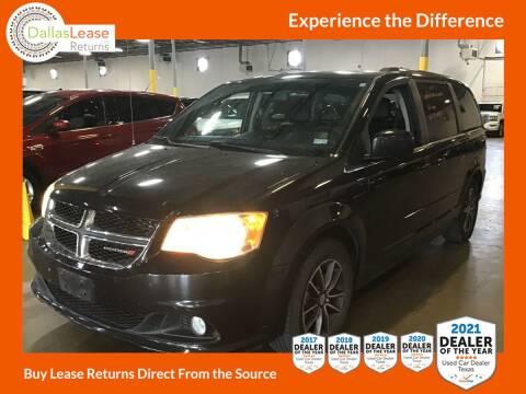 2017 Dodge Grand Caravan for sale at Dallas Auto Finance in Dallas TX