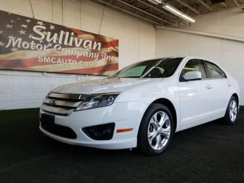 2012 Ford Fusion for sale at SULLIVAN MOTOR COMPANY INC. in Mesa AZ