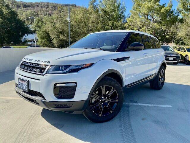 2017 Land Rover Range Rover Evoque for sale at Allen Motors, Inc. in Thousand Oaks CA