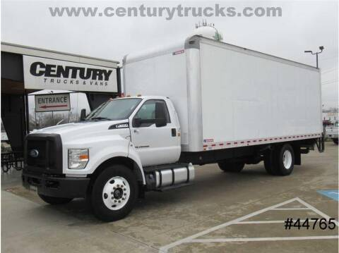 2018 Ford F-650 Super Duty for sale at CENTURY TRUCKS & VANS in Grand Prairie TX