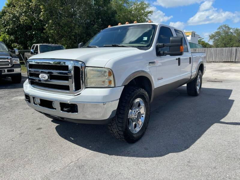 2007 Ford F-250 Super Duty for sale at Truck Depot in Miami FL