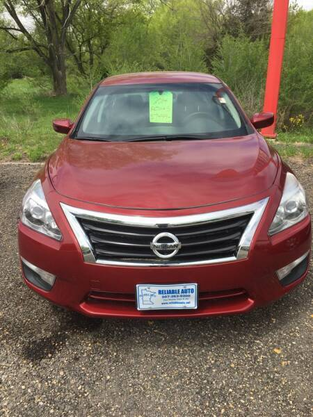 2014 Nissan Altima for sale at Reliable Auto in Cannon Falls MN