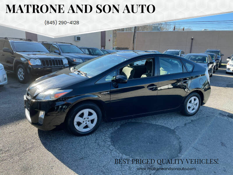 2011 Toyota Prius for sale at Matrone and Son Auto in Tallman NY