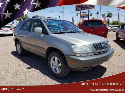 2003 Lexus RX 300 for sale at 48TH STATE AUTOMOTIVE in Mesa AZ