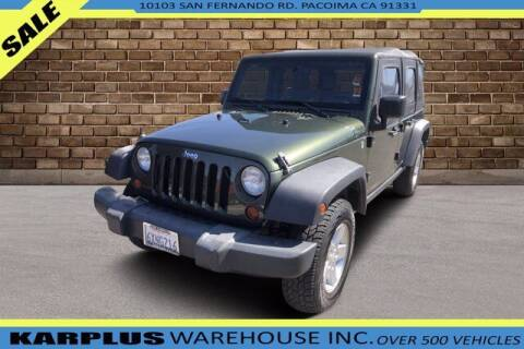 2009 Jeep Wrangler Unlimited for sale at Karplus Warehouse in Pacoima CA
