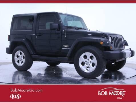 2013 Jeep Wrangler for sale at Bob Moore Kia in Oklahoma City OK