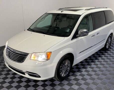 2011 Chrysler Town and Country for sale at SIRIUS MOTORS INC in Monroe OH
