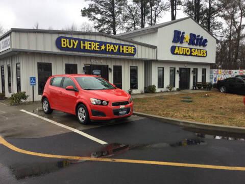 2015 Chevrolet Sonic for sale at Bi Rite Auto Sales in Seaford DE
