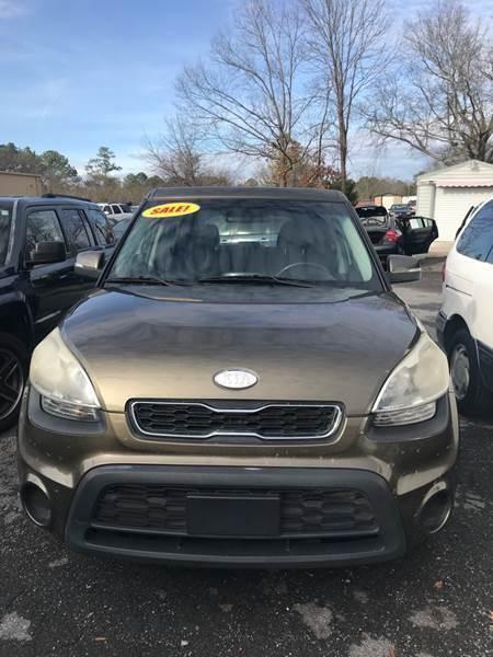 2012 Kia Soul for sale at SRI Auto Brokers Inc. in Rome GA