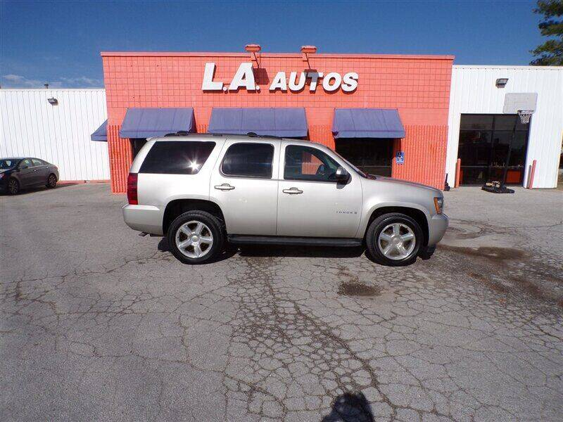 2007 Chevrolet Tahoe for sale at L A AUTOS in Omaha NE