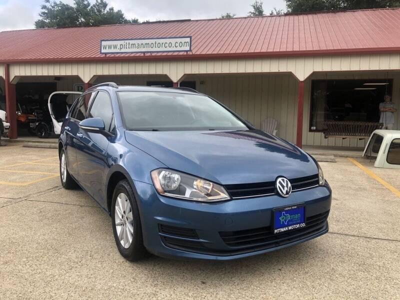 2016 Volkswagen Golf SportWagen for sale at PITTMAN MOTOR CO in Lindale TX