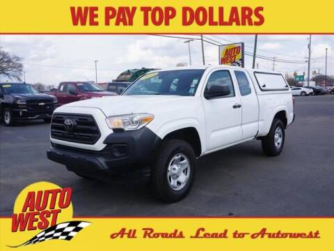 2018 Toyota Tacoma for sale at Autowest Allegan in Allegan MI