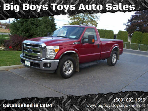 2015 Ford F-350 Super Duty for sale at Big Boys Toys Auto Sales in Spokane Valley WA