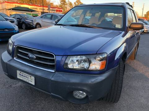 2004 Subaru Forester for sale at Atlantic Auto Sales in Garner NC