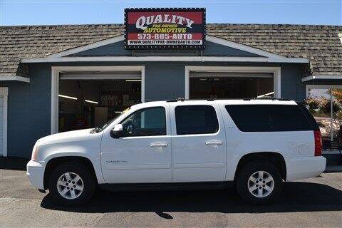 2010 GMC Yukon XL for sale at Quality Pre-Owned Automotive in Cuba MO