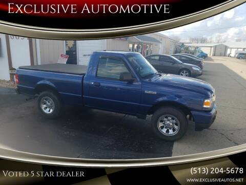 2011 Ford Ranger for sale at Exclusive Automotive in West Chester OH