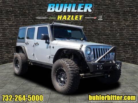 2016 Jeep Wrangler Unlimited for sale at Buhler and Bitter Chrysler Jeep in Hazlet NJ