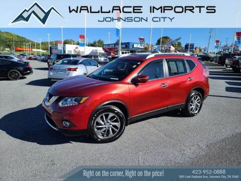 2014 Nissan Rogue for sale at WALLACE IMPORTS OF JOHNSON CITY in Johnson City TN