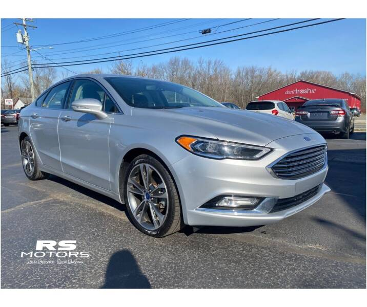 2017 Ford Fusion for sale at RS Motors in Falconer NY