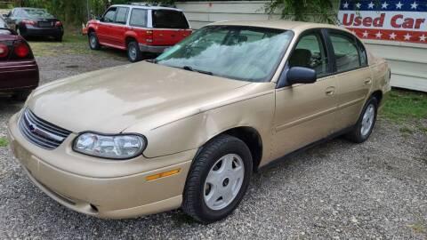 2002 Chevrolet Malibu for sale at Jackson Motors Used Cars in San Antonio TX