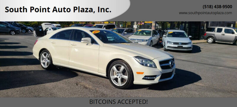 2014 Mercedes-Benz CLS for sale at South Point Auto Plaza, Inc. in Albany NY