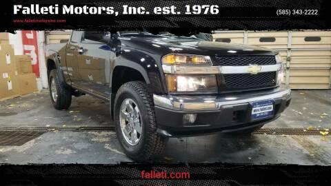 2012 Chevrolet Colorado for sale at Falleti Motors, Inc.  est. 1976 in Batavia NY