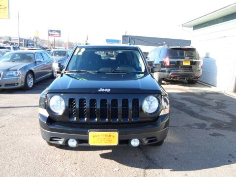 2012 Jeep Patriot for sale at Brothers Used Cars Inc in Sioux City IA