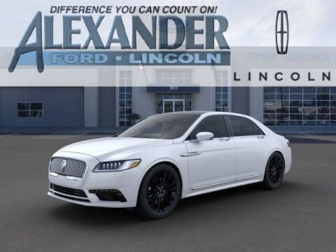 2020 Lincoln Continental for sale at Bill Alexander Ford Lincoln in Yuma AZ