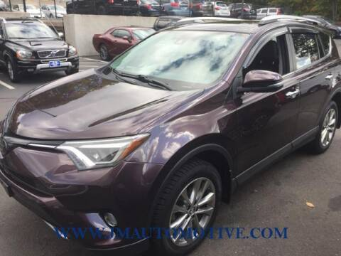 2016 Toyota RAV4 for sale at J & M Automotive in Naugatuck CT
