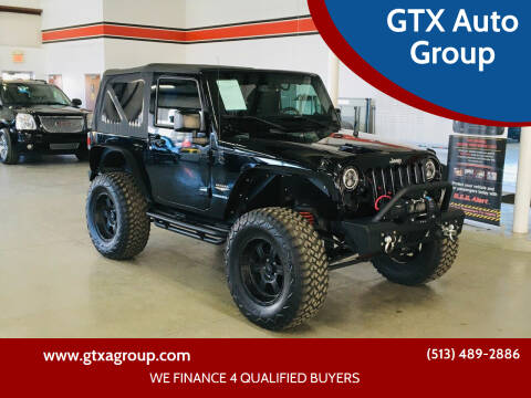 2015 Jeep Wrangler for sale at GTX Auto Group in West Chester OH