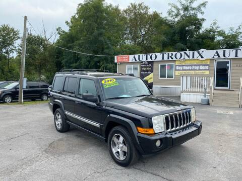 2010 Jeep Commander for sale at Auto Tronix in Lexington KY