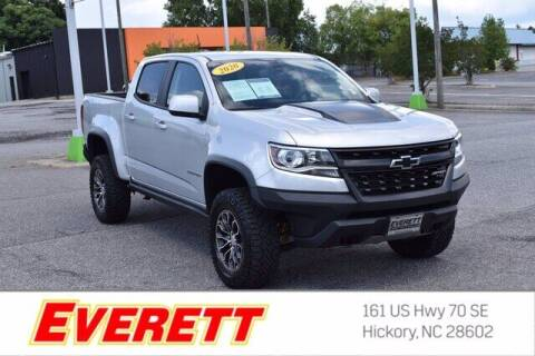 2020 Chevrolet Colorado for sale at Everett Chevrolet Buick GMC in Hickory NC