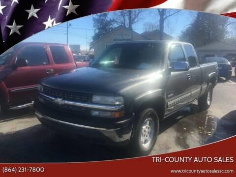 2001 Chevrolet Silverado 1500 for sale at Tri-County Auto Sales in Pendleton SC