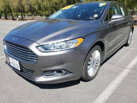 2013 Ford Fusion Hybrid for sale at ALL CREDIT AUTO SALES in San Jose CA