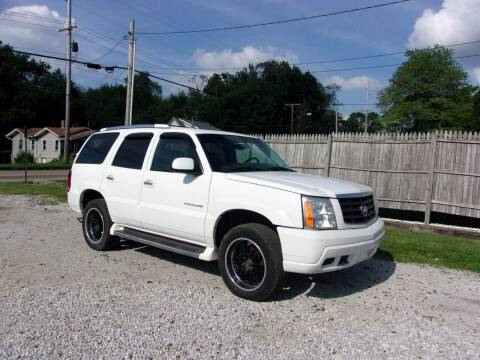 2002 Cadillac Escalade for sale at JEFF MILLENNIUM USED CARS in Canton OH
