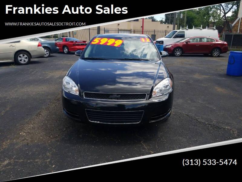 2012 Chevrolet Impala for sale at Frankies Auto Sales in Detroit MI
