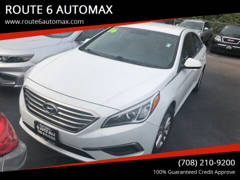2016 Hyundai Sonata for sale at ROUTE 6 AUTOMAX in Markham IL