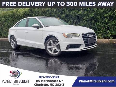 2016 Audi A3 for sale at Planet Automotive Group in Charlotte NC