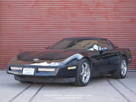 1990 Chevrolet Corvette for sale at Sierra Classics & Imports in Reno NV