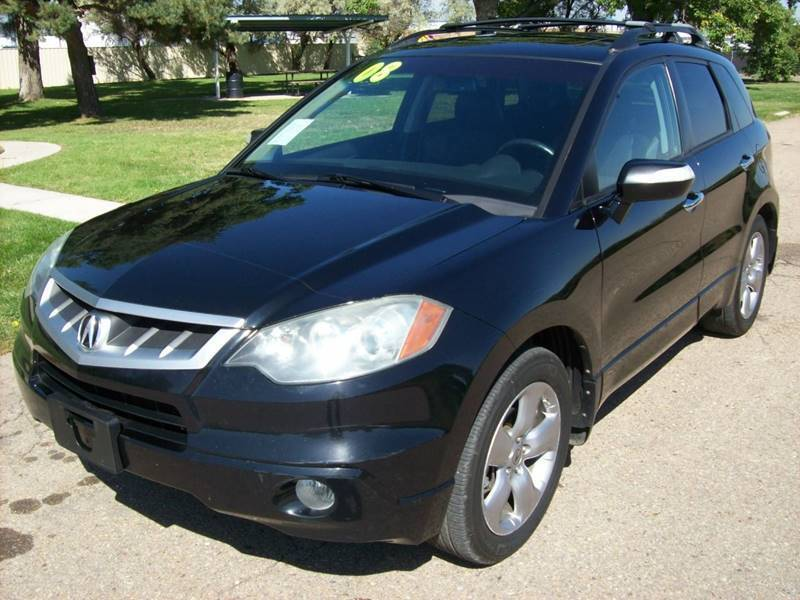 2008 Acura RDX for sale at EVANS AUTO SERVICE & SALES in Fort Lupton CO